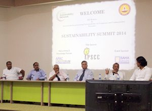 IIT-Madras and APSCC partners for Sustainability Network Summit - 2014