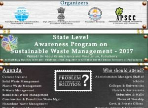 State Level Awareness Program on Sustainable Waste Management - 2017-18